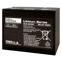 Lithium accu voor scootmobiel 60Ah