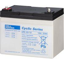Cellpower CPX Accu/batterij 33 Ah - 12 volt