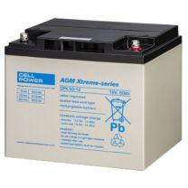 Cellpower CPX Accu/batterij 50 Ah - 12 volt met hoge capaciteit
