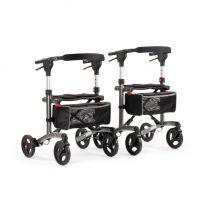 Rollator Trollimaster RA60 52 en 60 cm zithoogte, in donkergrijs en in wit verkrijgbaar