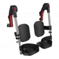 Hoek instelbare comfort beensteunen voor rolstoel icon