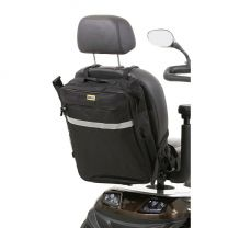Scootmobieltas c.q. rolstoeltas voorzien van rits