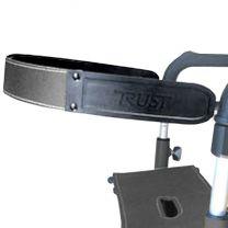 Rollator ruggensteun geschikt voor Trust rollators lets go en lets fly. Veilig zitten op de rollator.