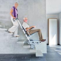 Scalamobiel trappenklimmer elektrisch - basis of met rolstoel