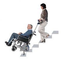 Elektrische trappenklimmer met rolstoel