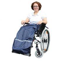 Voetenzak waterafstotend voor rolstoel en scootmobiel gebruik