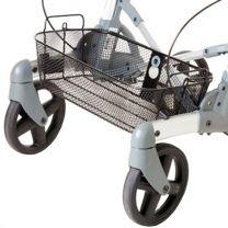Mand voor de Volaris rollator metaal voorzien van handvatten.