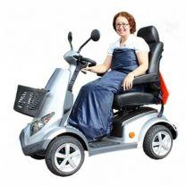 Makkelijk instappen in een wikkeldeken en te gebruiken voor rolstoel en scootmobiel.