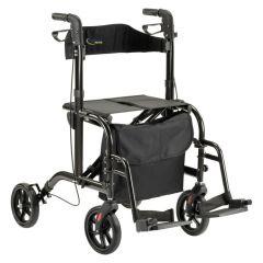 Duo rollator en rolstoel in 1 MultiMotion